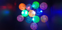 24 Flashing Sparkle Bouncy Balls