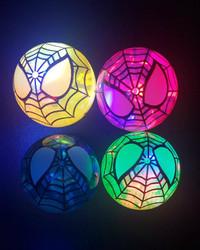 24 Flashing Spiderkid  Bouncy Balls