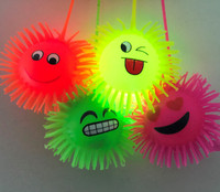 24 Flashing Emoji Puffer Balls *NEW*