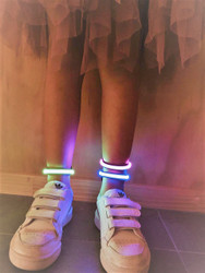 12 x LED Flashing Shoe Clip