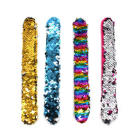 Sequin Snap Band