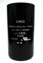 43 MFD capacitor replacement for 1/2HP Pentair, Berkeley, Sta-Rite capacitor start and capacitor run type control boxes. (U17-1422)