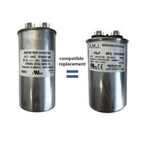 45 mfd motor run capacitor compatible replacement for 3HP Franklin, Pentek, Pentair, Berkeley, Sta-Rite, and Tuhorse control box.