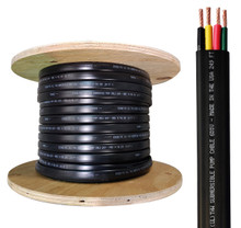 Tuhorse submersible pump cable in reel