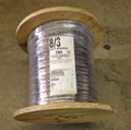 8/3 with ground HD jacketed submersible pump wire / cable, 4 conductors flat, 250 feet reel