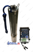 Tuhorse centrifugal deep well solar pump w/ controller
