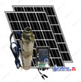 "4"" 500W Solar Submersible Deep Well Pump,  560W Solar Panel, 125 feet Cable Complete Kit"
