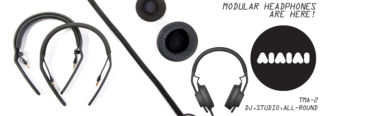AIAIAI Modular Headphone products