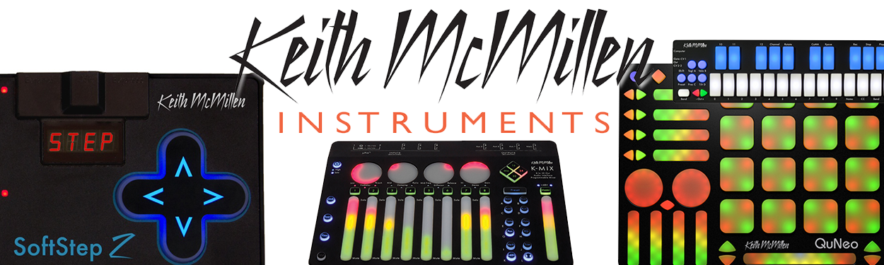 Keith McMillen instrument products
