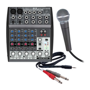 microphone-with-mixer-rental