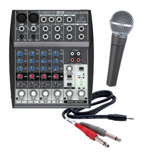 wireless-microphone-with-mixer-rental