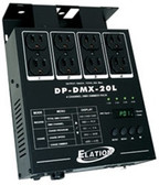 ADJ DP-DMX20L 4 Channel Universal DMX Dimmer Pack