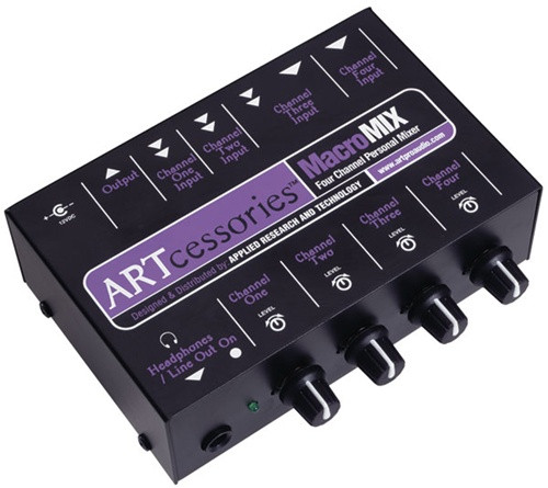 ART MacroMIX - Four Channel Personal Mixer