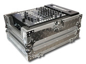 "Odyssey FZ12MIXDIA Diamond Plated 12"" DJ Mixer Case"