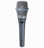 Shure Beta 87A Supercardioid Condenser Vocal Microphone