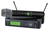 Shure SLX24 Beta87A Handheld Wireless Microphone System