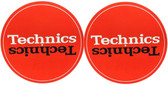 Technics Turntable Slipmats - Red