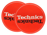 Technics Turntable Slipmats Red