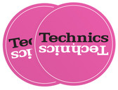 Technics Turntable Slipmat - Pink (Sold as Pair)