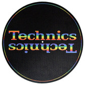Technics Turntable Slipmat - Rainbow