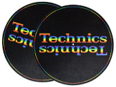 Technics Turntable Slipmat - Rainbow (Sold as Pair)