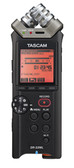 Tascam DR-22WL Portable Recorder with Wi-Fi (front view)
