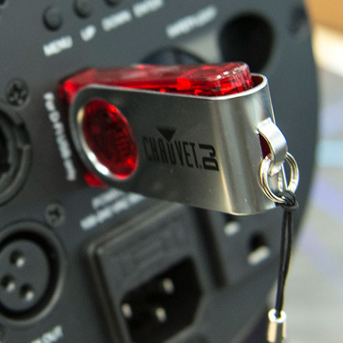 Chauvet D-Fi USB (plugged in)
