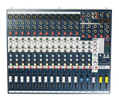 Soundcraft EFX12 Mixer (front view)