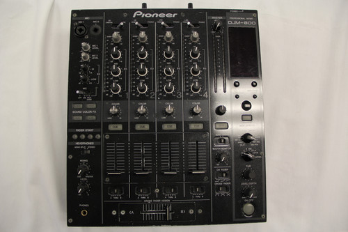 Pioneer DJM-800 | USED | 4-channel Mixer w/ Case