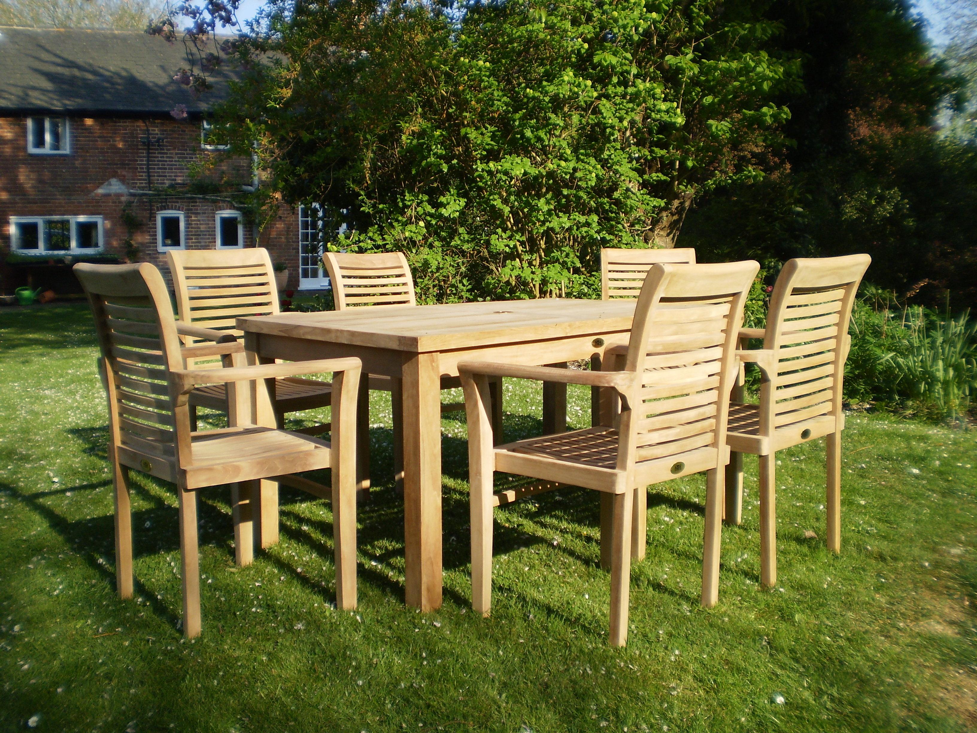 Teak Patio Furniture - Chairs and Tables UK - Teak Garden ...