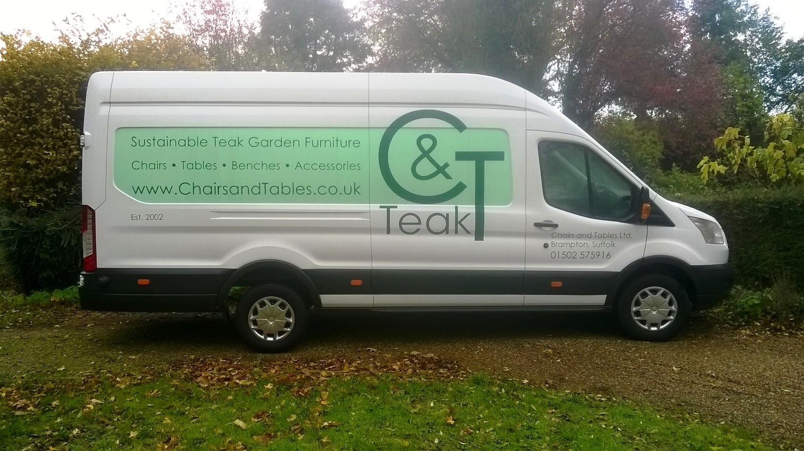 C&T teak Delivery van