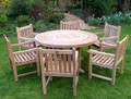 ring table with arm chairs