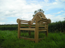 Lutyens Teak Arm Chair C&T Teak | Sustainable Teak Garden Furniture | Lutyens arm chair
