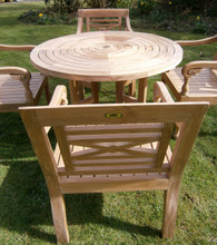 Turnworth 120cm Teak Ring Table