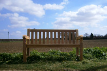 5ft Southwold Deluxe Teak Bench 150cm