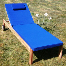 Teak Lounger with Cushion