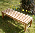 Southwold 5ft Teak Deluxe Backless Bench