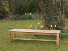 Southwold 6ft Teak Deluxe Backless Bench