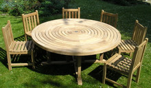 ring table with southwold chairs