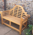 Lutyens Deluxe 4ft Teak Bench - C&T eak