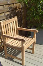 SOUTHWOLD TEAK ARM CHAIR  4