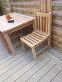 Southwold Teak Garden Side Chair