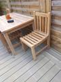 Southwold Teak Garden Side Chair