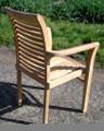 Lovina Stacking Teak Arm Chair
