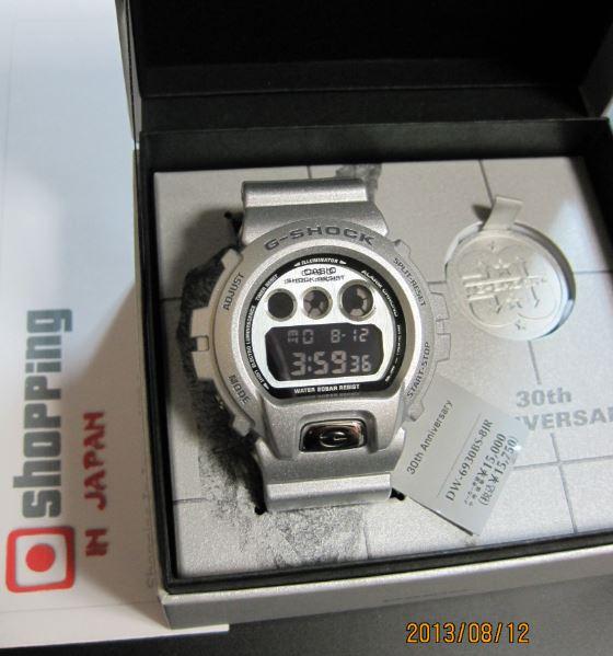 27dfaa9eb178 Casio G-Shock 30th anniversary DW-6930BS-8JR - Shopping In Japan .NET