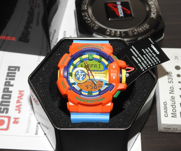 watch a033d ab23e Casio G-Shock GA-400-4AJF Hyper Colors