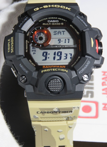 on sale 83839 b0295 Details about G-Shock Rangeman GW-9400DCJ-1JF Master in Desert Camouflage  (NEW 100%)