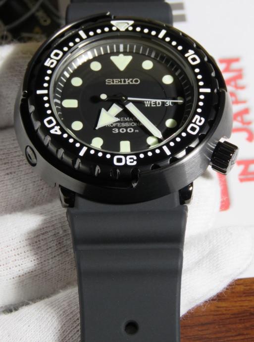Seiko Prospex Sbbn035 Quartz Ninja Tuna 300m Shopping In