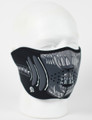 Face Mask - 1/2 Alien  Neoprene