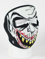 Face Mask - Glow in the Dark Vampire Neoprene